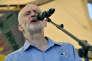 Jeremy Corbyn, le 22 juillet dans le village deTolpuddle (West Dorset).