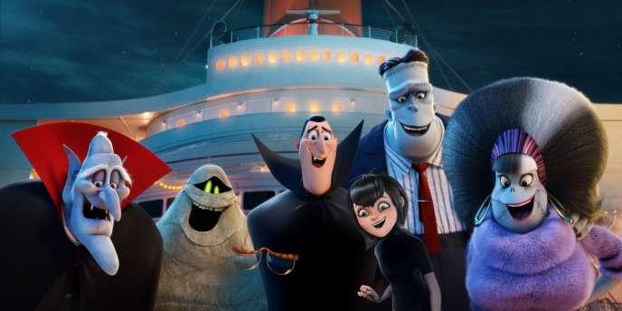 «Hôtel Transylvanie 3 : Des vacances monstrueuses», film d'animation américain de Genndy Tartakovsky.