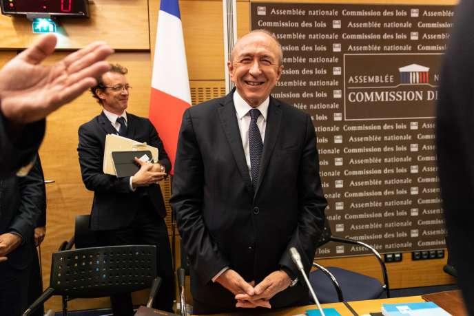 Gérard Collomb auditionné par la commission des lois, le lundi 23 juillet.