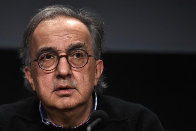 Sergio Marchionne, en décembre 2017.