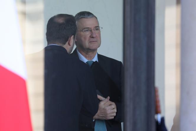 Le directeur de cabinet de l'Elysée, Patrick Strzoda, ici en janvier 2018.