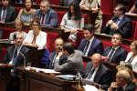 Edouard Philippe répond aux questions d'actualité au gourvernement, à l'Assemblée nationale, à Paris le 24 juillet 2018.