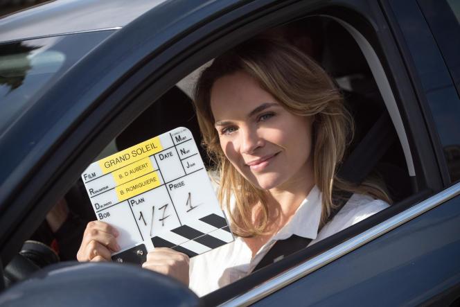 Mélanie Maudran, qui joue le rôle de Claire.