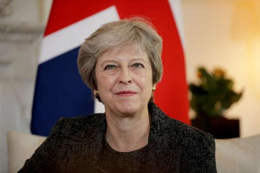 La première ministre, Theresa May, à Londres, le 24 juillet 2018.