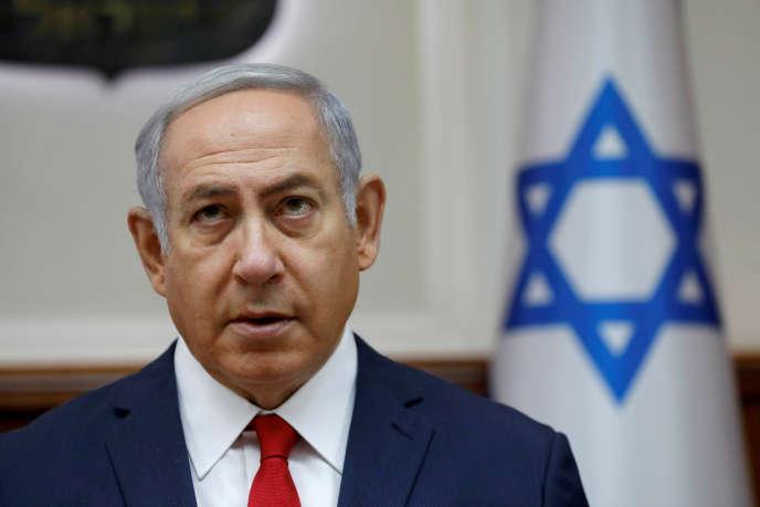 Benyamin Nétanyahou, à Jérusalem, le 8 juillet.