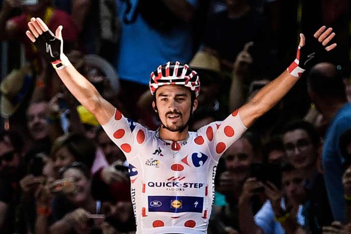 Julian Alaphilippe vainqueur de la 16e étape du Tour de France à Bagnères de Luchon