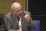 Yves Lefebvre, secrétaire général Unité SGP Police FO, devant la commission d'enquête du Sénat, réunie mardi 24 juillet.