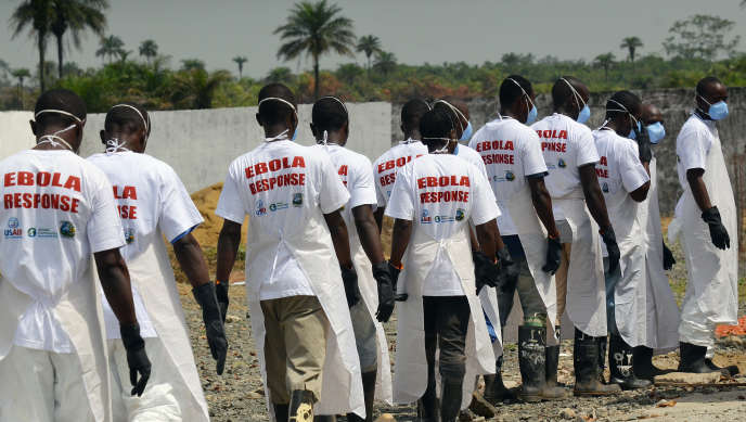 Au crématorium de Monrovia (Liberia), où des victimes du virus Ebola ont été incinérées, en mars 2015.