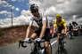 Christopher Froome et Geraint Thomas, en maillot jaune, le 22 juillet. 