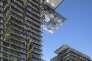 Le complexe One Central Park, de Jean Nouvel, à Sydney (Australie), accueille un jardin vertical conçupar le botaniste Patrick Blanc.