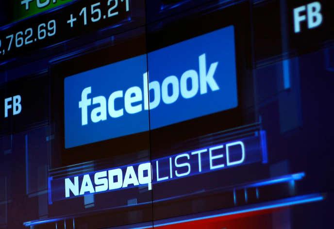 Le titre de Facebook a chuté dès l'ouverture de Wall Street, jeudi 26 juillet.