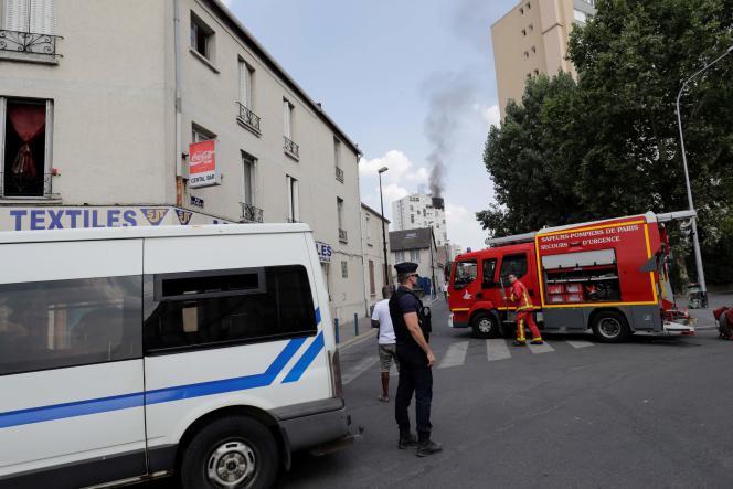 L'incendie d'Aubervilliers (Seine-Saint-Denis) a causé la mort d'une femme et de trois enfants.