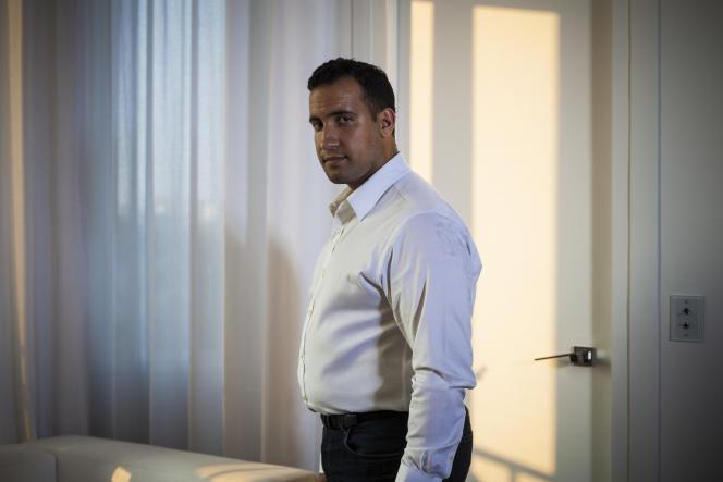 Alexandre Benalla, ancien chargé de mission au cabinet d'Emmanuel Macron, le 25 juillet.