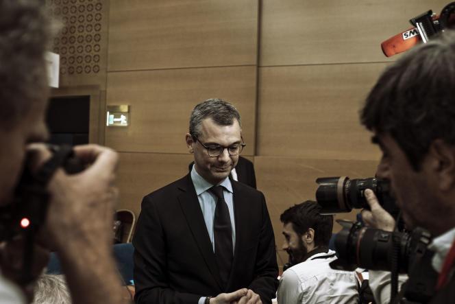 Le secrétaire général de l'Elysée, Alexis Kohler, lors de son audition au Sénat, le 26 juillet.