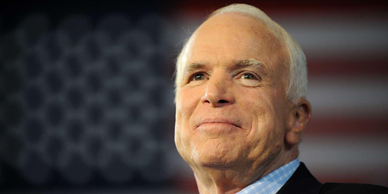 Le sénateur américain John McCain est mort