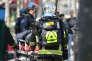 Des sapeurs-pompiers de Paris, le 5 mai 2018.