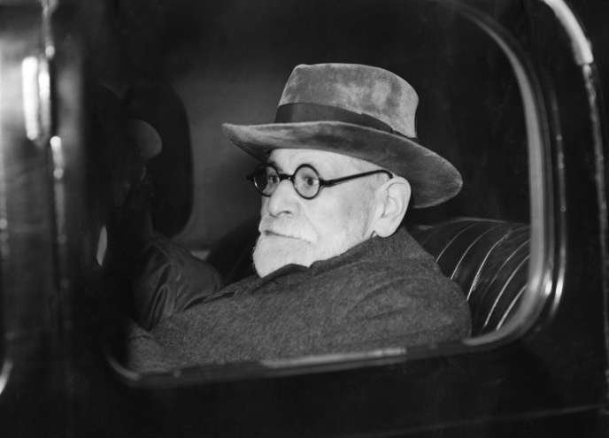 Sigmund Freud après son arrivée à Londres, le 6 juin 1938.