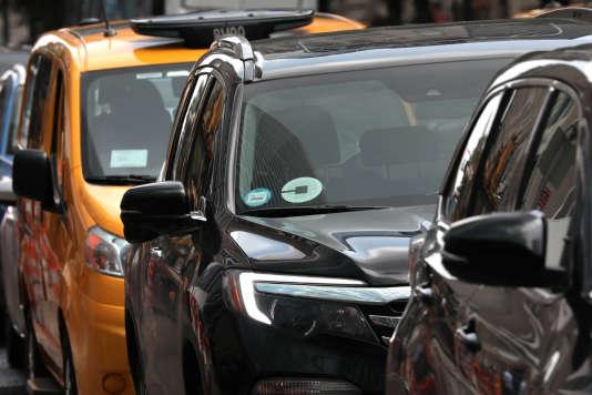 L'explosion du nombre de VTC a fait chuter la valeur de la licence de taxis.