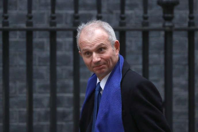 David Lidington, le 12 avril à Londres.