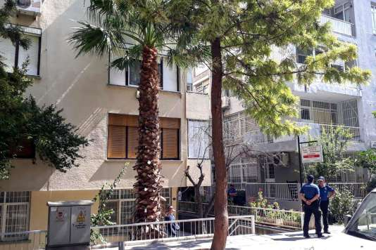 L'appartement du pasteur Andrew Brunson, dans lequel il a été placé en résidence surveillée, le 27 juillet à Izmir.