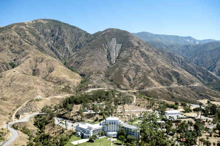 Arrowhead Springs fut une villégiature thermale où se pressaient des célébrités d'Hollywood.