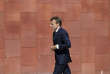 French President Emmanuel Macron arrives to meet with Portuguese Prime Minister Antonio Costa prior to a Summit for Energy Interconnections at the European Maritime Safety Agency headquarters in Lisbon Friday, July 27, 2018. (AP Photo/Armando Franca)