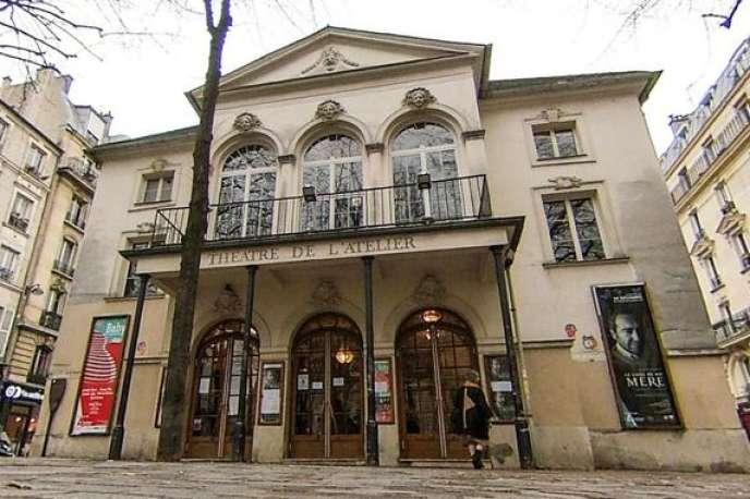 Le théâtre de l'Atelier situédans le quartier de la butte Montmartre à Paris.