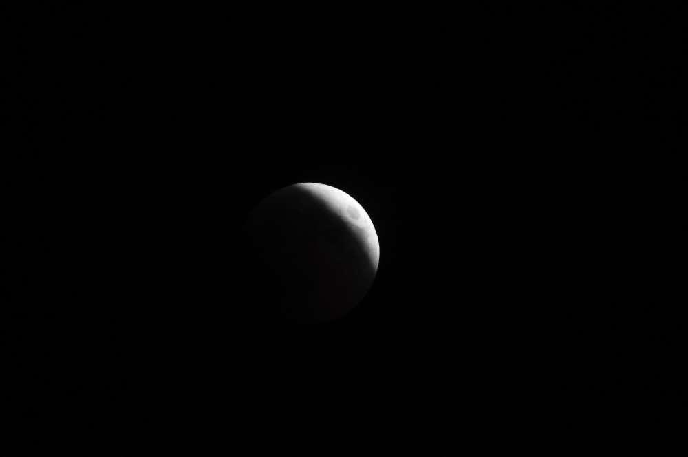 Eclipse totale observée au Caire, en Egypte.