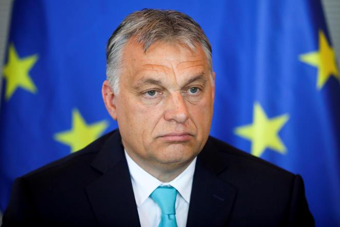 Viktor Orban, à Berlin, le 4 juillet.
