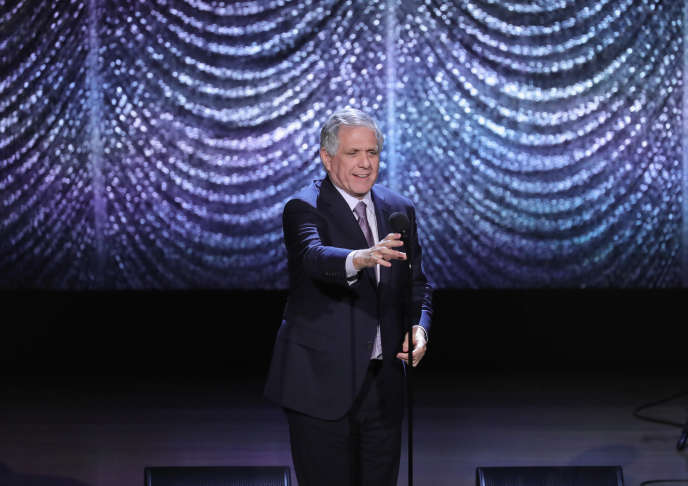 Le PDG de CBS, Leslie Moonves, au Alice Tully Hall à New York, en février 2017.