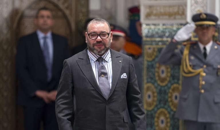 Le roi du Maroc Mohammed VI en 2017 à Casablanca.