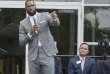 LeBron James, le 30 juillet à Akron (Ohio).