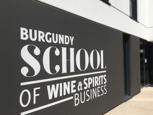 School of Wine & Spirits Business, une « école dans l'école » de la Burgundy School of Business, à Dijon, en Bourgogne.