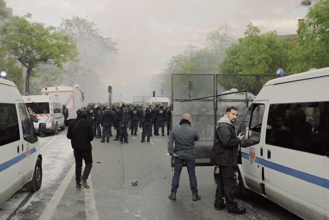 Alexandre Benalla, à Paris, le 1er mai.