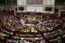 A l'Assemblée nationale, lors du vote d'une motion de censure contre le gouvernement, le 31 juillet.