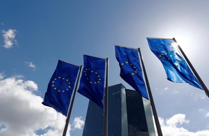 Le siège de la Banque centrale européenne (BCE), à Francfort-sur-le-Main (Allemagne), le 26 avril.