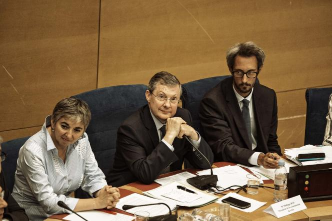 Philippe Bas, sénateur (LR) de la Manche, au Sénat, le 31 juillet.