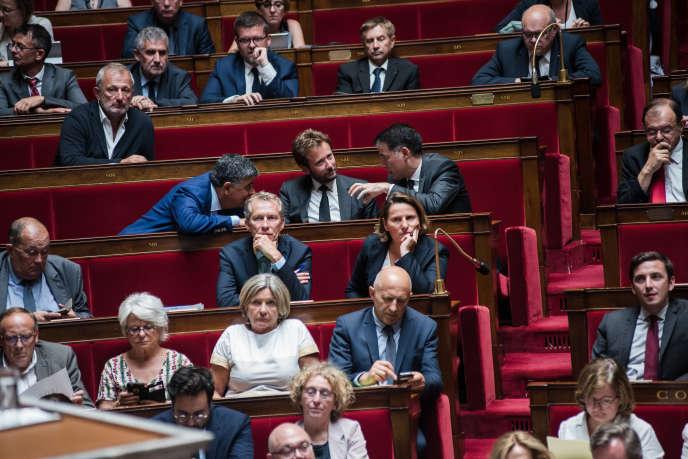 A l'Assemblée nationale, le 31 juillet.