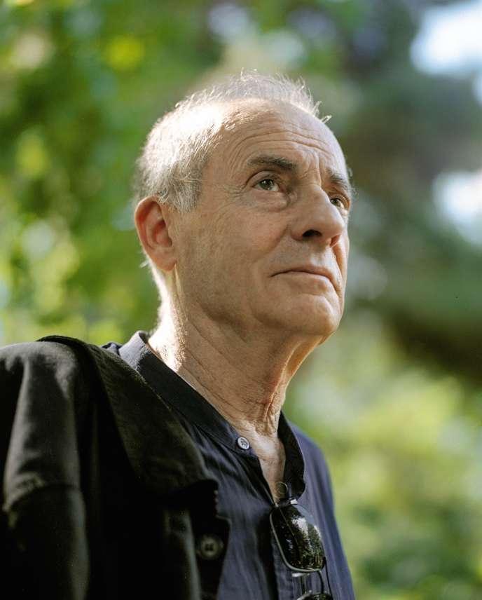 Jean Rolin, le 20 juin, à Paris.