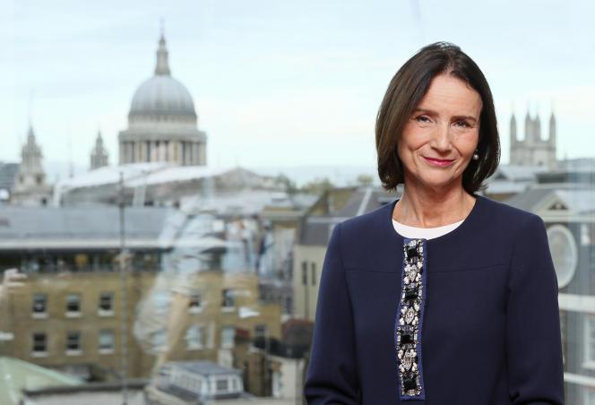 La directrice générale de la Confédération de l'industrie britannique (CBI), Carolyn Fairbairn, à Londres, en novembre 2015.