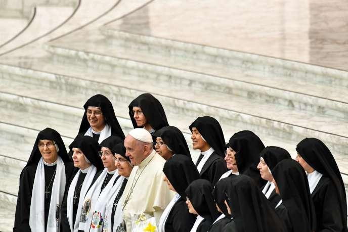Le pape François, au Vatican, le 1er aout 2018.