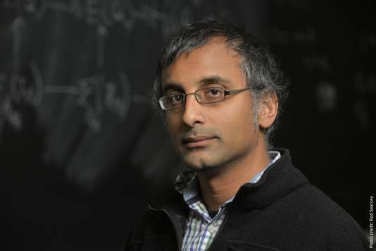 Akshay Venkatesh, un des lauréats de la médaille Fields 2018.