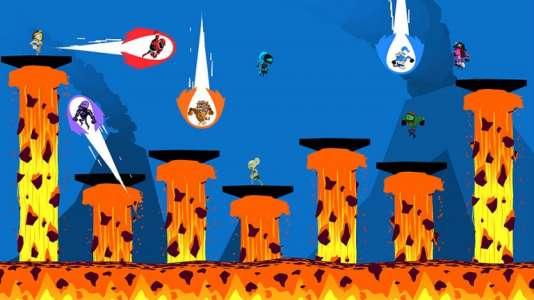 Initialement sorti sur WiiU,«Runbow» débarque sur Switch.