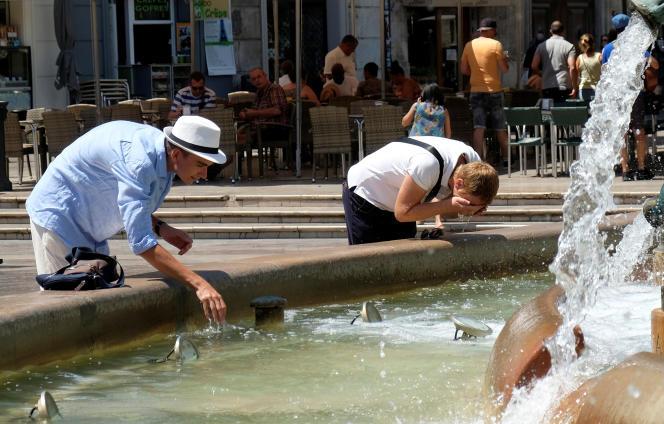 A Valence, en Espagne, le 3 août.