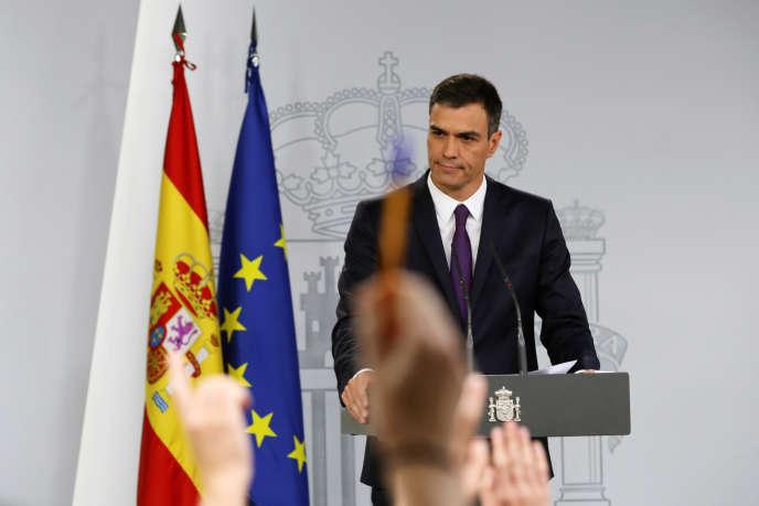 Pedro Sanchez, le premier ministre espagnol, à Madrid, le 3 août 2018.