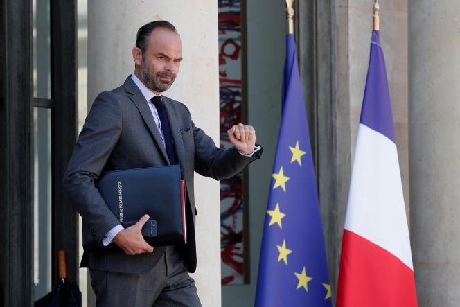 Le premier ministre, Edouard Philippe, le 3 août à l'Elysée.