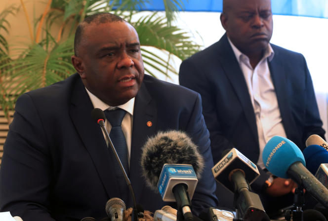 Jean-Pierre Bemba à Kinshasa, le 3 août.