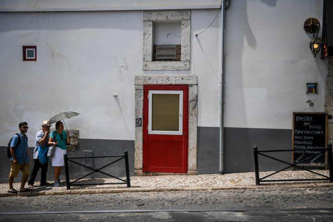 A Lisbonne au Portugal, le 3 août.
