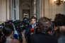 Paris, le 19 juillet 2018, à l'assemblée nationale. Apres les révélations du Monde sur un collaborateur de Macron (Alexandre Benalla) molestant un manifestant le 1er mai 2018, vif débat à l'assemblée. Itv de Christian Jacob, chef du groupe des députés Les Républicains.