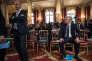 Le ministre del'éducation nationale, Jean-Michel Blanquer, et leministre del'économie, Bruno Le Maire, à l'Elysée, le 17juillet.